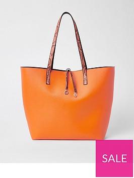 river-island-bright-shopper--orange