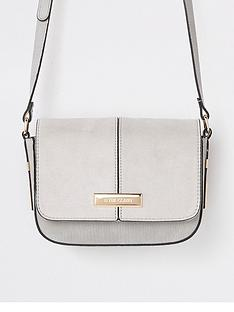 river-island-river-island-foldover-cross-body-bag--grey