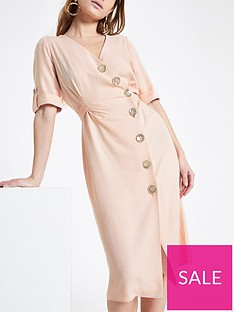 ri-petite-ri-petite-button-detail-midi-dress-blush