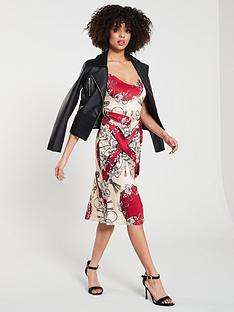 river-island-scarf-print-slip-dress--red