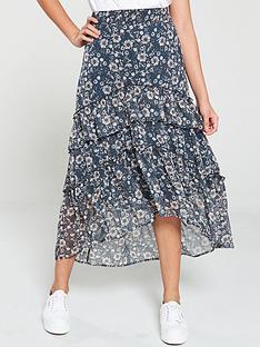 v-by-very-tiered-ditsy-chiffon-midi-skirt-print