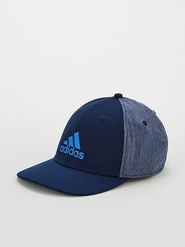 adidas-stretch-badge-of-sport-cap-navy