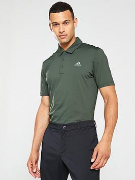 adidas-golf-ultimate-365-solid-polo-grey