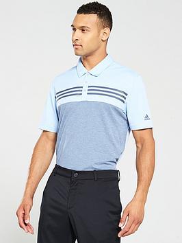 adidas-golf-heather-block-polo-blue