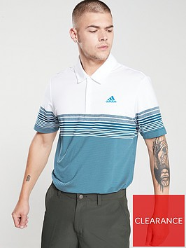 adidas-golf-ultimate-gradient-black-stripe-polo-navygrey