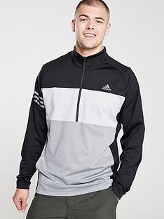 adidas-golf-14-zip-sweat-black