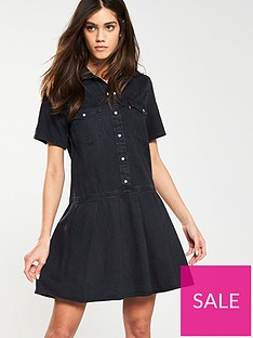 levis-levis-mirai-western-pleated-dress