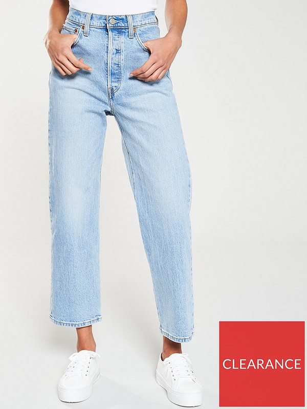 Levis Ribcage Straight Ankle Jean