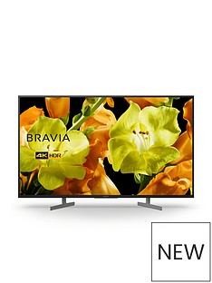 Sony BRAVIA KD43XG81, 43 inch, 4K Ultra HD, HDR, Smart TV - Black