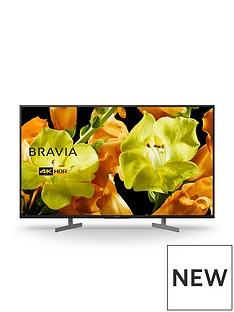Sony Sony BRAVIA KD49XG81, 49 inch, 4K Ultra HD, HDR, Smart TV - Black