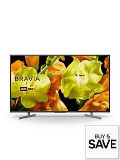 Sony BRAVIA KD55XG81, 55 inch, 4K Ultra HD, HDR, Smart TV - Black
