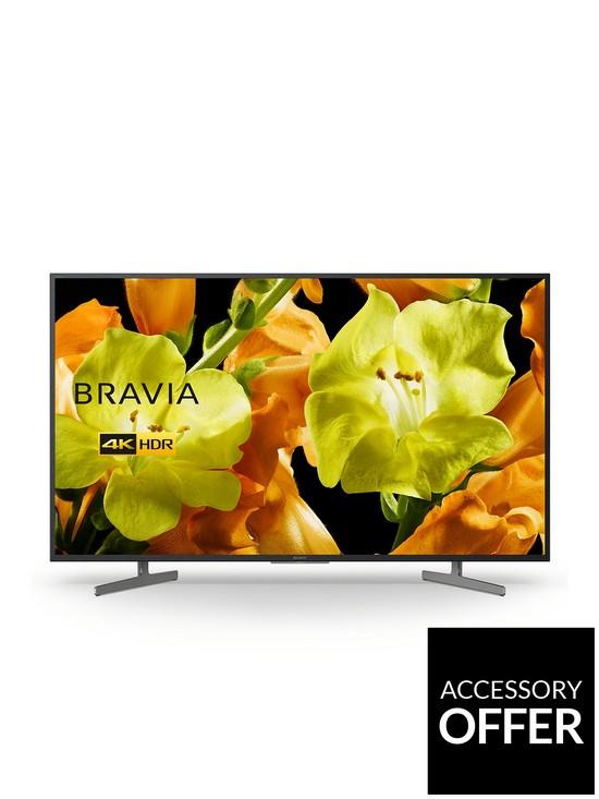BRAVIA KD55XG81, 55 inch, 4K Ultra HD, HDR, Smart TV - Black