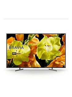 Sony BRAVIA KD65XG81, 65 inch, 4K Ultra HD, HDR, Smart TV - Black