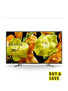 Sony BRAVIA KD65XG81, 65 inch, 4K Ultra HD, HDR, Smart TV - Black