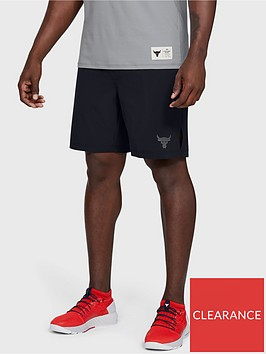 under-armour-project-rock-training-shorts-black