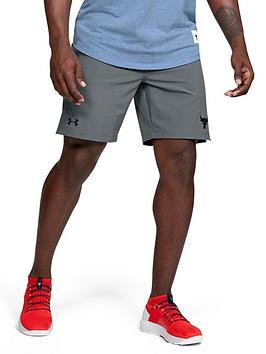 under-armour-project-rock-training-short-grey