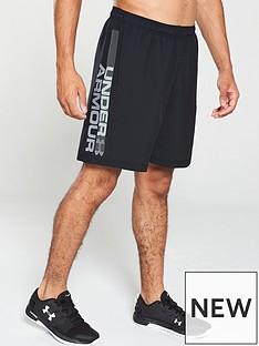 under-armour-woven-graphic-wordmark-shorts-black