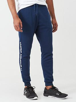 under-armour-rival-fleece-wordmark-logo-joggers-blue