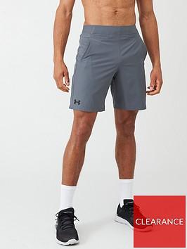 under-armour-vanish-snap-shorts-greyblack