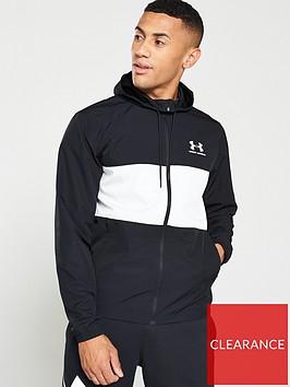 under-armour-sportstyle-wind-jacket-blackwhite