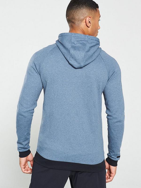 2d0d4e569d Unstoppable 2X Mens Full Zip Hoodie – Grey/Black