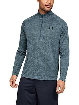 under-armour-tech-20-12-zip-top-greyblack