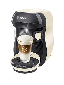 Bosch Tassimo Happy Tas1007Gb Coffee Machine - Cream