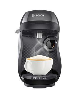 Bosch Tassimo Happy Single Serve Pod Coffee Machine - Black