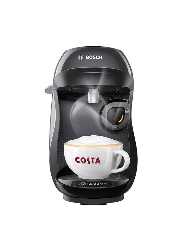 Tassimo Happy Single Serve Pod Coffee Machine Black