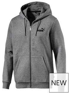 puma-ess-full-zip-hoodie-grey