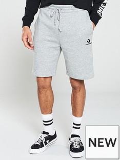 converse-star-chevron-shorts-grey-marl