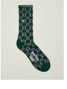 vans-harry-potternbspslytherin-crew-socks-green