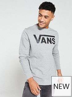 vans-classic-crew-neck-sweat-grey-marl