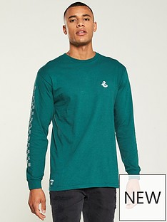 vans-xnbspharry-potternbspslytherinnbsp-long-sleeve-tee-greennbsp