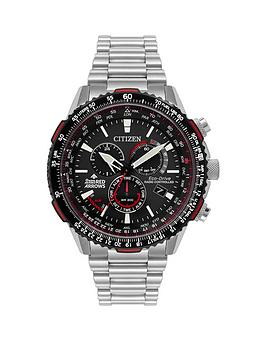 citizen-citizen-eco-drive-red-arrows-black-and-red-detail-chronograph-dial-stainless-steel-bracelet-mens-watch