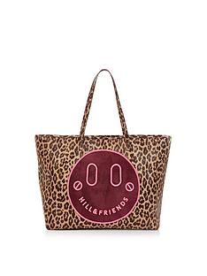 hill-friends-slouchy-tote-leopard-print-bag-oxblood