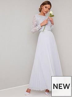 chi-chi-london-kaylee-long-sleeve-lace-top-maxi-dress-grey