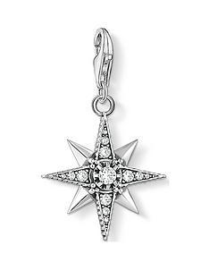 thomas-sabo-thomas-sabo-sterling-silver-cubic-zirconia-star-charm
