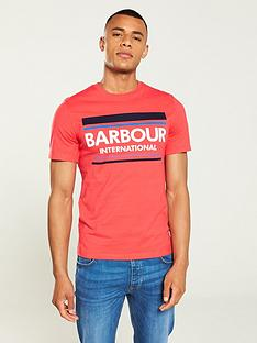 barbour-international-control-t-shirt-red