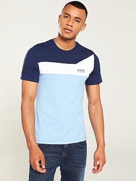 barbour-international-steering-t-shirt-blue