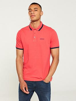 barbour-international-pinion-pigment-polo-shirt-red