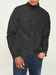 d4c0ad60ae BARBOUR INTERNATIONAL Stannington Casual Jacket - Black