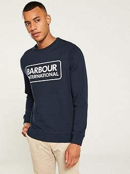 barbour-international-large-logo-sweat-navy