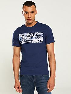 barbour-international-comp-t-shirt-blue