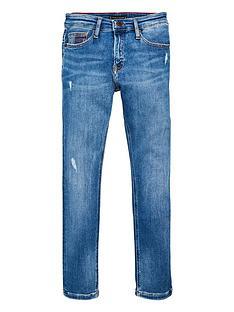 tommy-hilfiger-boys-steve-slim-tapered-mid-wash-jeans-blue
