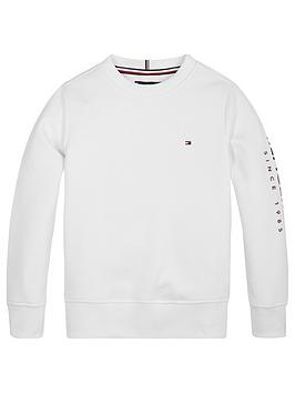 tommy-hilfiger-boys-logo-arm-crew-sweatshirt-white