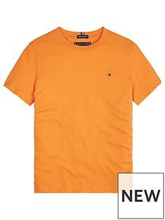 tommy-hilfiger-boys-short-sleeve-classic-flag-t-shirt-orange