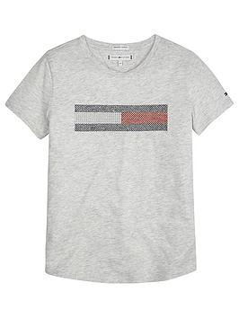 tommy-hilfiger-girls-flag-embroidered-short-sleeve-t-shirt-grey