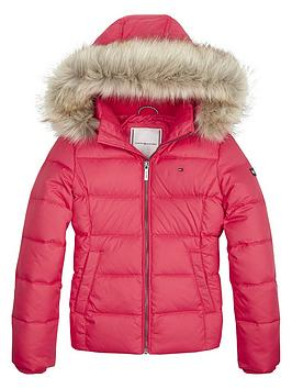 tommy-hilfiger-girls-faux-fur-hood-down-jacket-pink
