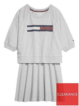 tommy-hilfiger-girls-flag-sweat-dress-grey